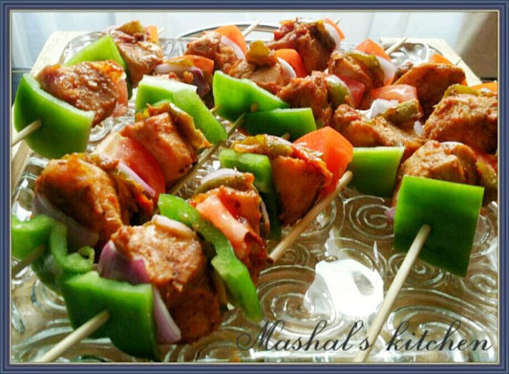 Chicken Shashlik Mashal S Kitchen